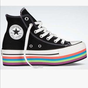 Rainbow Platform Converse